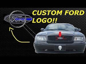 BADASS FORD LOGO FOR THE CROWN VIC!