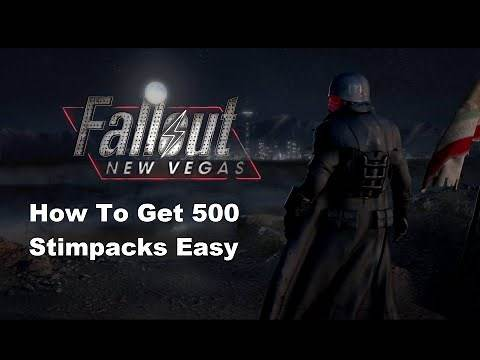 Fallout New Vegas How To Get 500 Stimpacks Easy