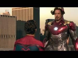 """Spiderman: De Regreso a Casa (2017) """"Tony le quita el traje a Peter"""" Español Latino (HD) Doblado"""