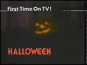 Halloween 1981 Commercial for first TV Broadcast