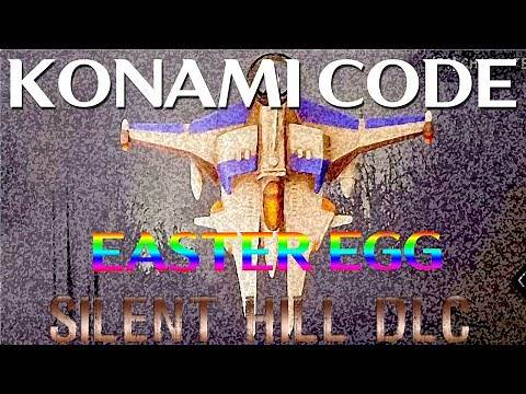 How to do the Konami Code in Silent Hill DLC [Dead By Daylight] - EASTER EGG