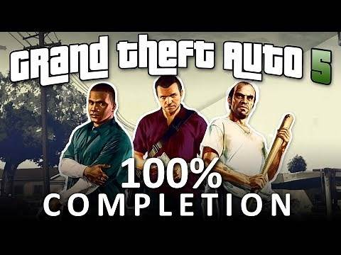 GTA V 100% Completion - Full Game Walkthrough (1080p 60fps)