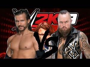 WWE 2K19 Matches Adam Cole vs Aleister Black