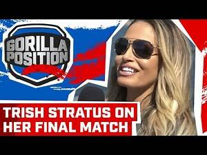 Trish Stratus on preparing for SummerSlam return, if it's her final match & facing Charlotte Flair