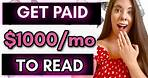 How To Get Paid to Read and Review Free Books Online - Get Paid to Review Books 2021 with Websites