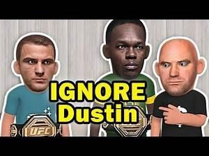 Dana White IGNORES Dustin Poirier but focus on Adesanya post UFC 236