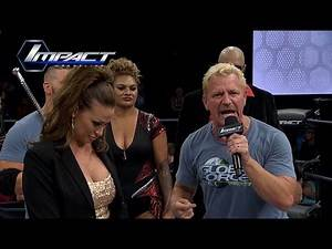 Jeff Jarrett Opens IMPACT A Message of Taking Over (Sep 2, 2015)