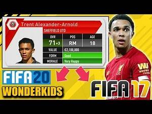 PLAYING WITH FIFA 20 WONDERKIDS in FIFA 17 Career Mode - How bad they were?