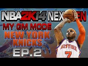 NBA 2K14 Next Gen My GM Mode Ep.2 - New York Knicks   CRAZY GAME   Chicago Bulls   Xbox One Gameplay
