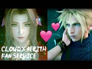 """AERITH SAYS TO CLOUD """"DON'T FALL IN LOVE WITH ME"""" FINAL FANTASY 7 REMAKE (FF7 PS4 PRO)"""