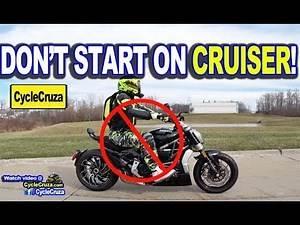 5 Reasons To NOT START On Cruiser Motorcycle | MotoVlog