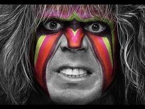 Speed Drawing The Ultimate Warrior WWE
