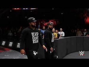 WWE 2K20 Triple Threat Tag Team WWE Tag Team Championship TLC 5 4K