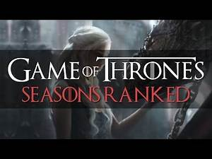 Ranking the Game of Thrones Seasons from Worst to Best