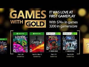 FREE Games with Gold (February 2017) for Xbox One + Xbox 360
