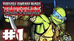 TMNT: Mutants in Manhattan - Part 1 - Turtle Power! Gameplay Walkthrough