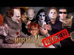 Mortal Kombat 11 - Failed Character Auditions