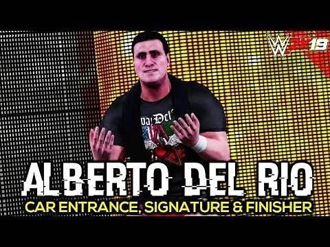 Alberto Del Rio   WWE 2K19 PC Mod