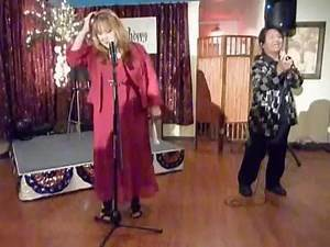 Erlinda w/ Choppy from PorkChop Duo in Comedy (2nd) Live Show