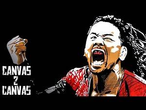 The Artists Known As Shinsuke Nakamura and Rob Schamberger - Canvas 2 Canvas
