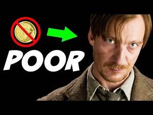 Why Was Remus Lupin so POOR? - Harry Potter Explained