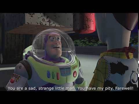 Toy Story - You are a sad, strange little man