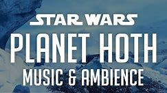 Planet Hoth | Star Wars Music & Ambience - Beautiful & Relaxing Changing Scenes from the Ice Planet