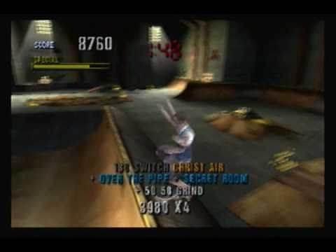 Tony Hawk Pro Skater 1 N64