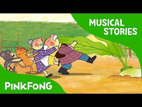 The Great Big Turnip | Fairy Tales | Musical | PINKFONG Story Time for Children