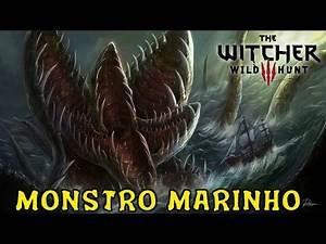 The Witcher 3 - Monstro Marinho Easter Egg??