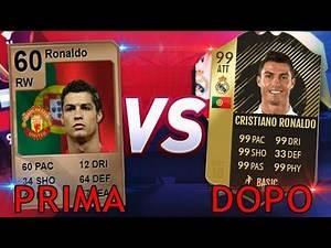 10 Calciatori PRIMA e DOPO su FIFA !!! ( Speciale FIFA 18 )