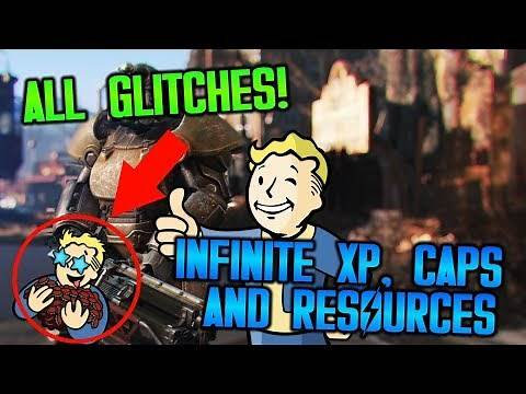 FALLOUT 4 | ALL GLITCHES INFINITE XP, CAPS AND RESOURCES *WORKING 2020*