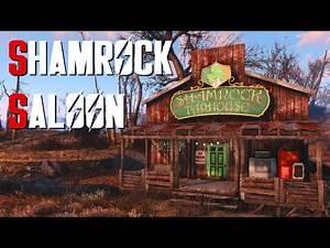 Fallout 4 Settlement Build: Shamrock Saloon