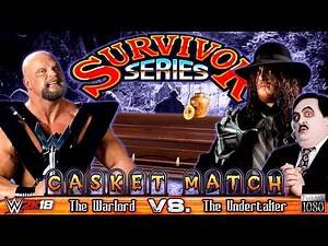 WWE2K18: ⭐ CASKET MATCH ⭐The Warlord VS. The Undertaker (Paul Bearer) [incl. Mods & Storyline]