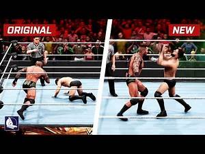 75 Insane New Moves Variations (Animations) in WWE 2K20