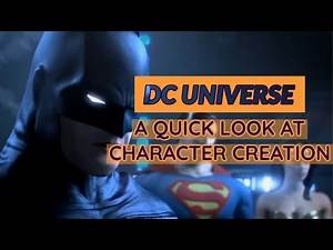DC UNIVERSE ONLINE | Character Creation