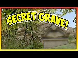 "GTA 5 - ""SECRET"" Fort Zancudo Grave Site Easter Egg! Possible Jet Pack Clue! (GTA V)"