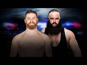 WWE Roadblock End Of The Line 2016 Sami Zayn vs Braun Stowman