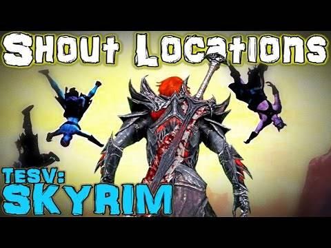 TESV: Skyrim - All Shout & Word Wall Guide (Vanilla)