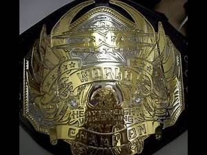 History of the TNA Championship Titles / Belts