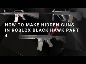 How To make secret weapons in BRM5   Part 4