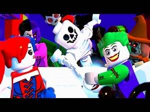 LEGO DC Super Villains Part 2 Attack on Gotham City Police Station & Nightwing Batgirl Boss Battles!