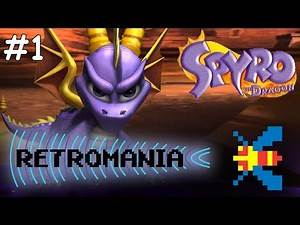 Spyro The Dragon, Part 1 - Retromania