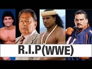 Top WWE Superstars who Died in 2017 | WWE Wrestlers Deaths Tribute 2017