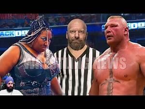 Brock Lesnar vs Kharma Triple H Special Guest Referee