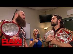 Seth Rollins and Braun Strowman will battle at WWE Clash of Champions: Raw, Aug. 26, 2019