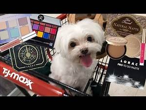 COME DISCOUNT MAKEUP SHOPPING WITH ME & TINO! TJ MAXX MAKEUP FINDS - High-End Makeup for Cheap!