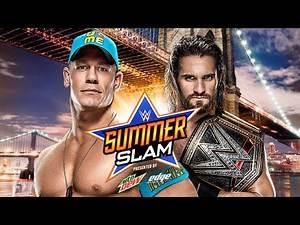 WWE SummerSlam 2015 (Predictions) TITLE FOR TITLE John Cena vs. Seth Rollins WWE 2K15 Simulation