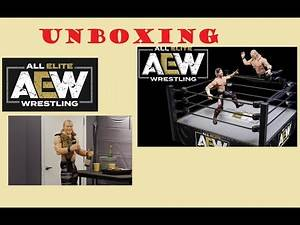 All Elite Wrestling (AEW) Action Ring and Chris Jericho Unboxing