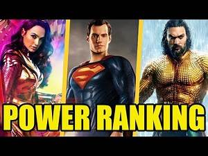Ranking The Most Powerful Heroes in the DCEU! | All 17 Heroes From WORST to BEST